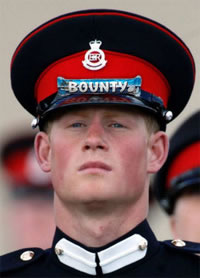 Prince Harry with a Bounty on His Head